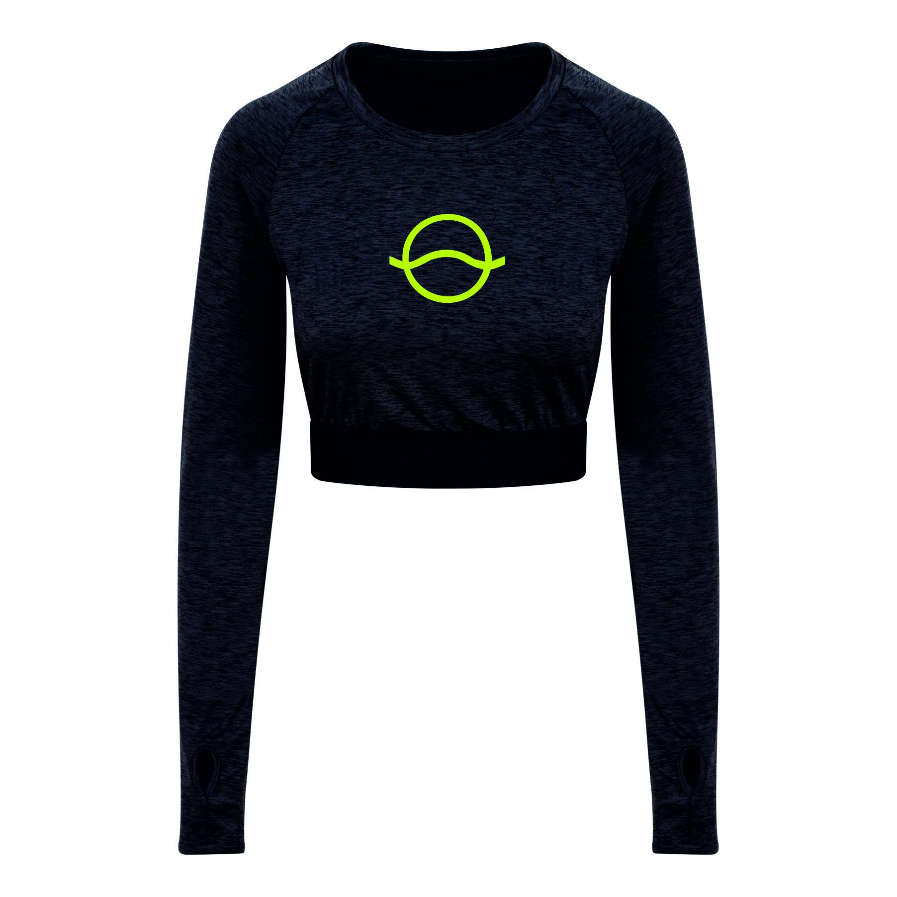 c477c95db2 Vibe Long Sleeve Crop T-Shirt – Vibe